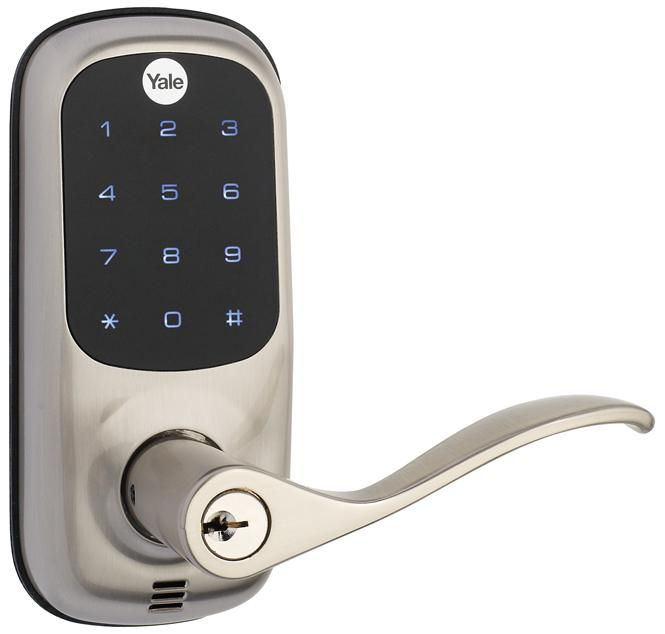 Yale Touchscreen Lever Lock
