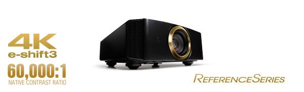 JVC Pro 3D 4k D-ILA e-shift3 projector