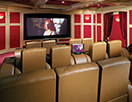 Automated Solutions - home theater - luxury home movie room - media room - custom home theater - projector systems - San Diego, Encinitas, La Jolla, Rancho Santa Fe